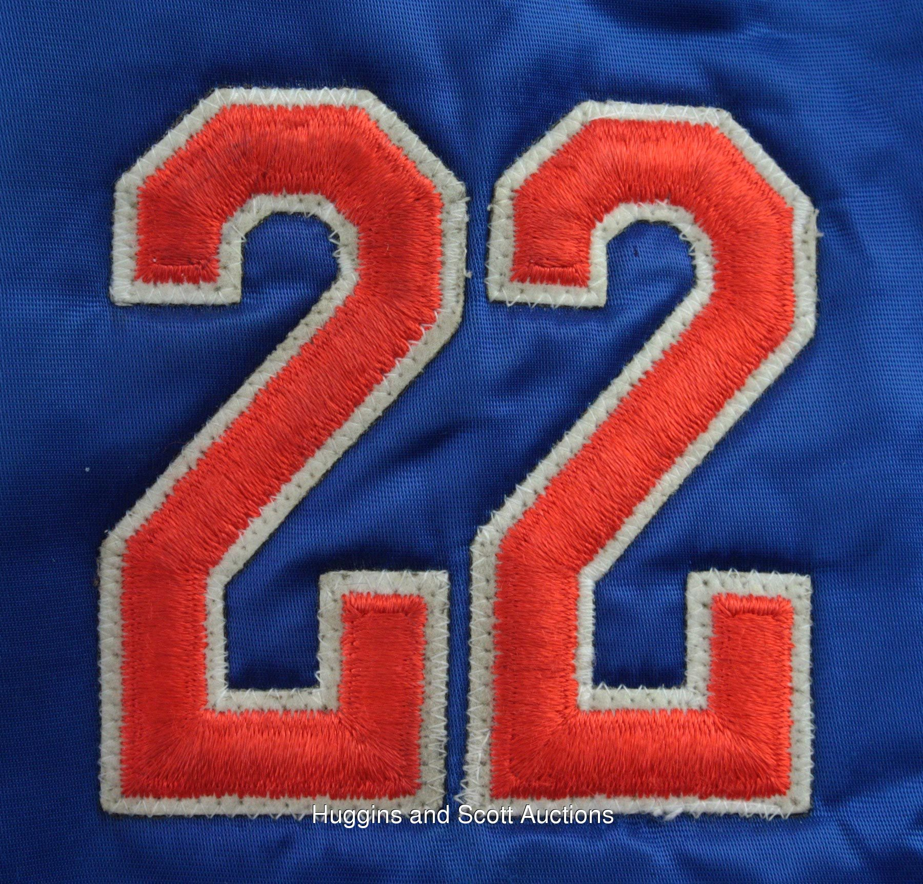 size 40 1af63 8981c Kevin McReynolds Late-1980s Game-Worn New York Mets Warm-Up ...